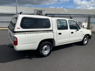 2004 Toyota Hilux RZN149R MY02 4x2 White 5 Speed Manual Utility.