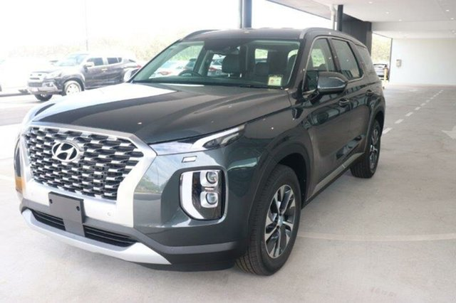 New Hyundai Palisade LX2.V1 MY21 AWD Mount Gravatt, 2020 Hyundai Palisade LX2.V1 MY21 AWD Rain Forest 8 Speed Sports Automatic Wagon