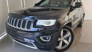 2013 Jeep Grand Cherokee WK MY2014 Overland Black 8 Speed Sports Automatic Wagon.