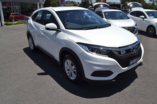 2019 Honda HR-V MY19 VTi White 1 Speed Constant Variable Hatchback.