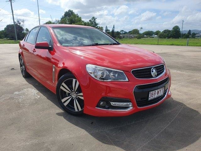Used Holden Commodore VF MY15 SV6 Storm Townsville, 2015 Holden Commodore VF MY15 SV6 Storm Red 6 Speed Sports Automatic Sedan