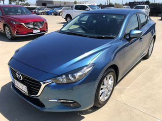 2018 Mazda 3 BN Series Maxx Sport Blue Sports Automatic Sedan
