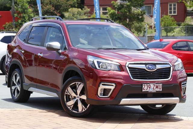 Demo Subaru Forester S5 MY20 Hybrid S CVT AWD Newstead, 2020 Subaru Forester S5 MY20 Hybrid S CVT AWD Crimson Red 7 Speed Constant Variable Wagon Hybrid