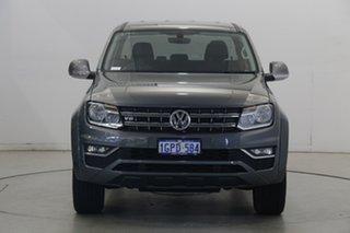 2018 Volkswagen Amarok 2H MY18 TDI550 4MOTION Perm Sportline Grey 8 Speed Automatic Utility.