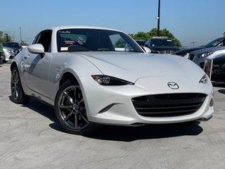 2017 Mazda MX-5 ND RF SKYACTIV-MT White 6 Speed Manual Targa.