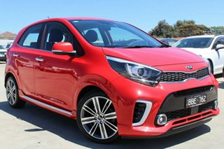 2019 Kia Picanto JA MY19 GT-Line Red 4 Speed Automatic Hatchback