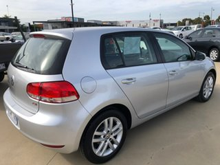 2011 Volkswagen Golf VI 118TSI Comfortline Silver Sports Automatic Dual Clutch Hatchback.