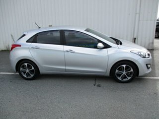 2015 Hyundai i30 ACTIVE  X Silver 4 Speed Automatic Hatchback.