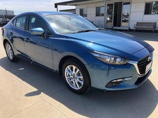 2018 Mazda 3 BN Series Maxx Sport Blue Sports Automatic Sedan.