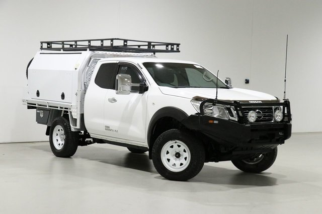 Used Nissan Navara D23 Series II RX (4x4) Bentley, 2016 Nissan Navara D23 Series II RX (4x4) White 6 Speed Manual King Cab Chassis