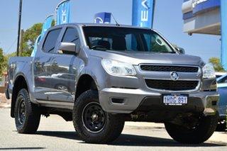 2015 Holden Colorado RG MY15 LS Crew Cab Grey 6 Speed Manual Utility.