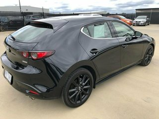 2019 Mazda 3 BP Series G25 Astina Black Sports Automatic Hatchback.
