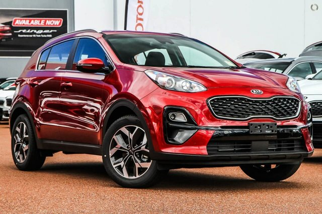 New Kia Sportage QL MY21 SX 2WD Reynella, 2020 Kia Sportage QL MY21 SX 2WD Red 6 Speed Sports Automatic Wagon