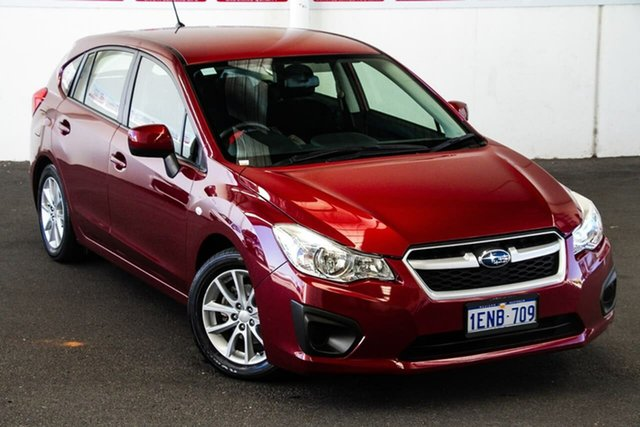 Pre-Owned Subaru Impreza MY14 2.0I (AWD) Myaree, 2014 Subaru Impreza MY14 2.0I (AWD) Continuous Variable Hatchback