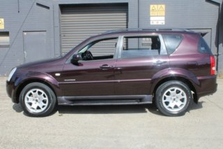 2007 Ssangyong Rexton Y200 MY07 RX270 Sports Maroon 5 Speed Auto Steptronic Wagon