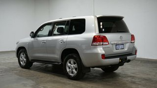 2010 Toyota Landcruiser VDJ200R MY10 Sahara Silver 6 Speed Sports Automatic Wagon.