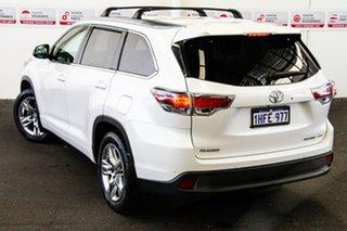 2015 Toyota Kluger GSU55R Grande (4x4) Crystal Pearl 6 Speed Automatic Wagon.