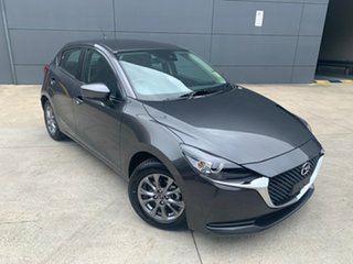 2020 Mazda 2 DJ2HAA G15 SKYACTIV-Drive Pure Machine Grey 6 Speed Sports Automatic Hatchback.