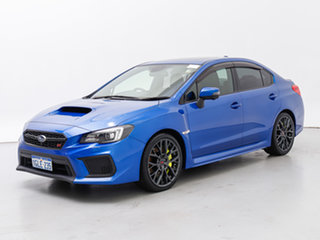 2017 Subaru WRX MY18 STI Spec R (AWD) Blue 6 Speed Manual Sedan.