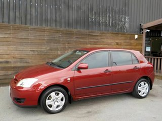 2006 Toyota Corolla ZZE122R 5Y Ascent Red 5 Speed Manual Hatchback