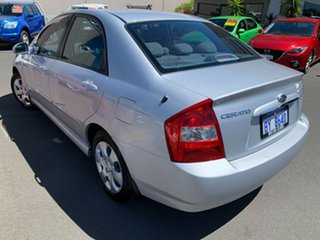 2006 Kia Cerato LD MY06 EX Silver 4 Speed Automatic Sedan.