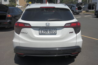2019 Honda HR-V MY20 RS White 1 Speed Constant Variable Hatchback