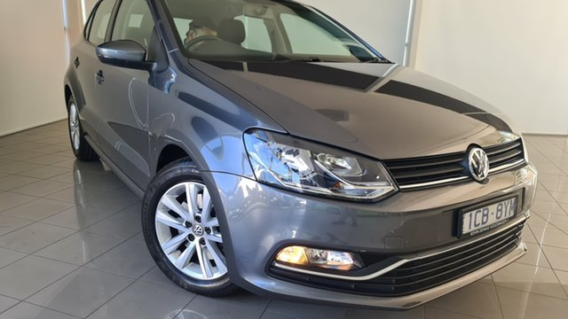 Used Volkswagen Polo 6R MY15 81TSI DSG Comfortline Deer Park, 2014 Volkswagen Polo 6R MY15 81TSI DSG Comfortline Grey 7 Speed Sports Automatic Dual Clutch