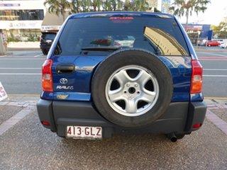 2001 Toyota RAV4 ACA21R Edge (4x4) Blue 4 Speed Automatic 4x4 Wagon