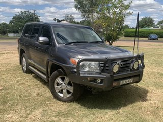 2012 Toyota Landcruiser VDJ200R MY10 Sahara Grey 6 Speed Sports Automatic Wagon.