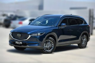 2020 Mazda CX-8 KG2WLA Touring SKYACTIV-Drive FWD Blue 6 Speed Sports Automatic Wagon.