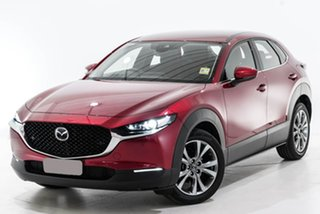 2020 Mazda CX-30 DM Series G20 Astina Red Sports Automatic SUV.