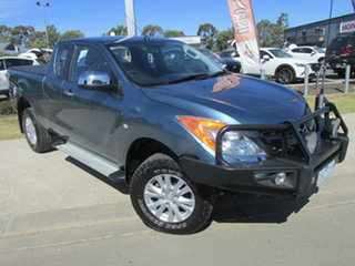 2015 Mazda BT-50 UP0YF1 XTR Freestyle Blue 6 Speed Sports Automatic Utility.