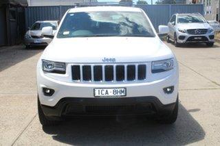 2014 Jeep Grand Cherokee WK MY15 Laredo (4x4) White 8 Speed Automatic Wagon.
