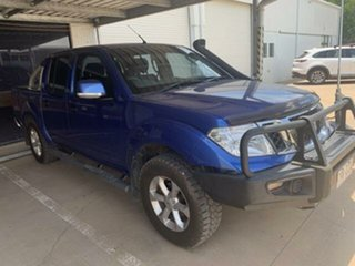 2012 Nissan Navara D40 Series 4 ST-X (4x4) Blue 6 Speed Manual Dual Cab Pick-up.