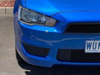 2008 Mitsubishi Lancer CJ MY09 ES Blue 6 Speed Constant Variable Sedan