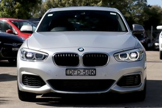 2016 BMW 1 Series F20 LCI M135i Glacier Silver 8 Speed Sports Automatic Hatchback