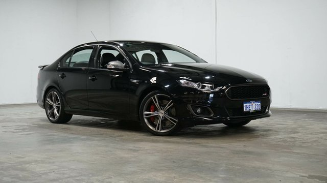 Used Ford Falcon FG X XR8 Welshpool, 2015 Ford Falcon FG X XR8 Black 6 Speed Sports Automatic Sedan