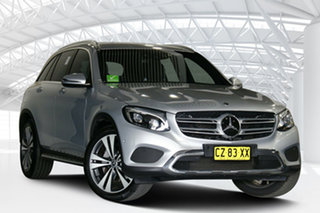 2017 Mercedes-Benz GLC250D 253 MY17 Silver 9 Speed Automatic Wagon.