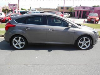 2011 Ford Focus LW Titanium Brown 6 Speed Automatic Hatchback.