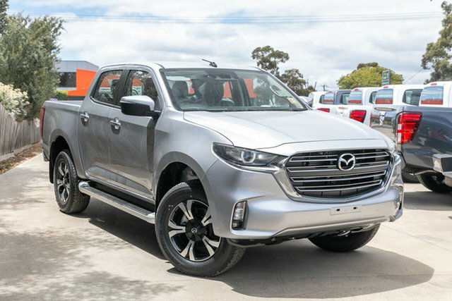 Demo Mazda BT-50 TFS40J XTR Mornington, 2020 Mazda BT-50 TFS40J XTR Ingot Silver 6 Speed Sports Automatic Utility