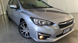 2018 Subaru Impreza G5 MY18 2.0i-L CVT AWD Silver, Chrome 7 Speed Constant Variable Hatchback.
