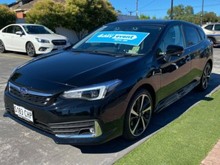 2020 Subaru Impreza G5 MY21 2.0i-S CVT AWD Crystal Black 7 Speed Constant Variable Hatchback.