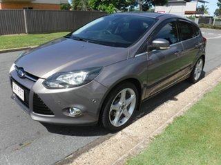 2011 Ford Focus LW Titanium Brown 6 Speed Automatic Hatchback