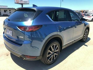 2019 Mazda CX-5 KF Series GT Blue Sports Automatic SUV.