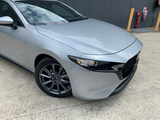 2020 Mazda 3 BP2HLA G25 SKYACTIV-Drive Evolve Sonic Silver 6 Speed Sports Automatic Hatchback.