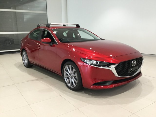 Used Mazda 3 BP2S7A G20 SKYACTIV-Drive Evolve Alexandria, 2020 Mazda 3 BP2S7A G20 SKYACTIV-Drive Evolve Soul Red 6 Speed Sports Automatic Sedan