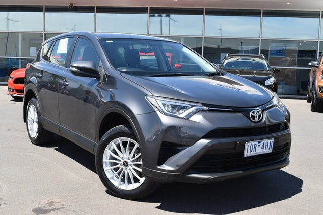 Used Toyota RAV4 ASA44R GX AWD Essendon Fields, 2017 Toyota RAV4 ASA44R GX AWD Grey 6 Speed Sports Automatic Wagon