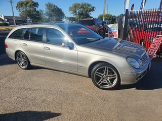 2005 Mercedes-Benz E-Class S211 MY06 E280 Elegance Silver 7 Speed Sports Automatic Wagon.