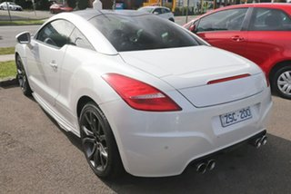 2013 Peugeot RCZ MY13 White 6 Speed Sports Automatic Coupe.
