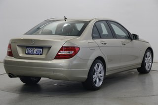 2011 Mercedes-Benz C-Class W204 MY11 C200 BlueEFFICIENCY 7G-Tronic + Champagne 7 Speed